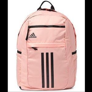 Adidas League 3 Strip Backpack Pink